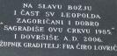 Naše znamenitosti - sporna ploča koja je bila na crkvi_1